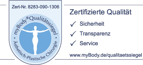 8283 D quality seal with myBody banner