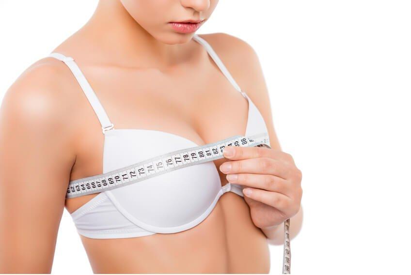 Körbchen brustverkleinerung b Brustvergrößerung A