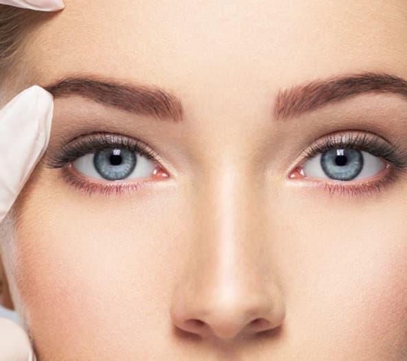 Augenfalten Botox Düsseldorf