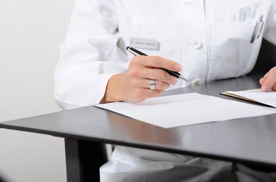 Consultation at the Klinik am Rhein