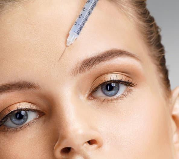Stirnfalten Botox Klinik am Rhein