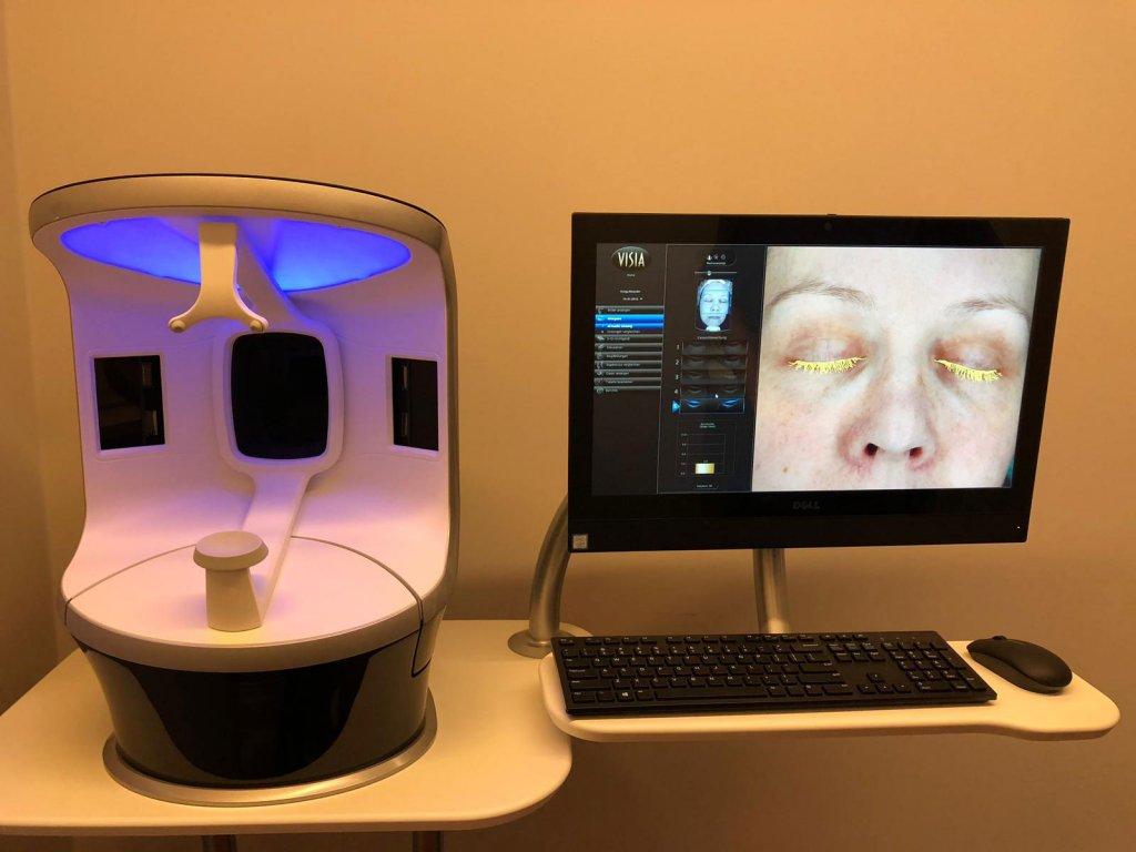 Hautanalyse Visia-Scan – Klinik am Rhein
