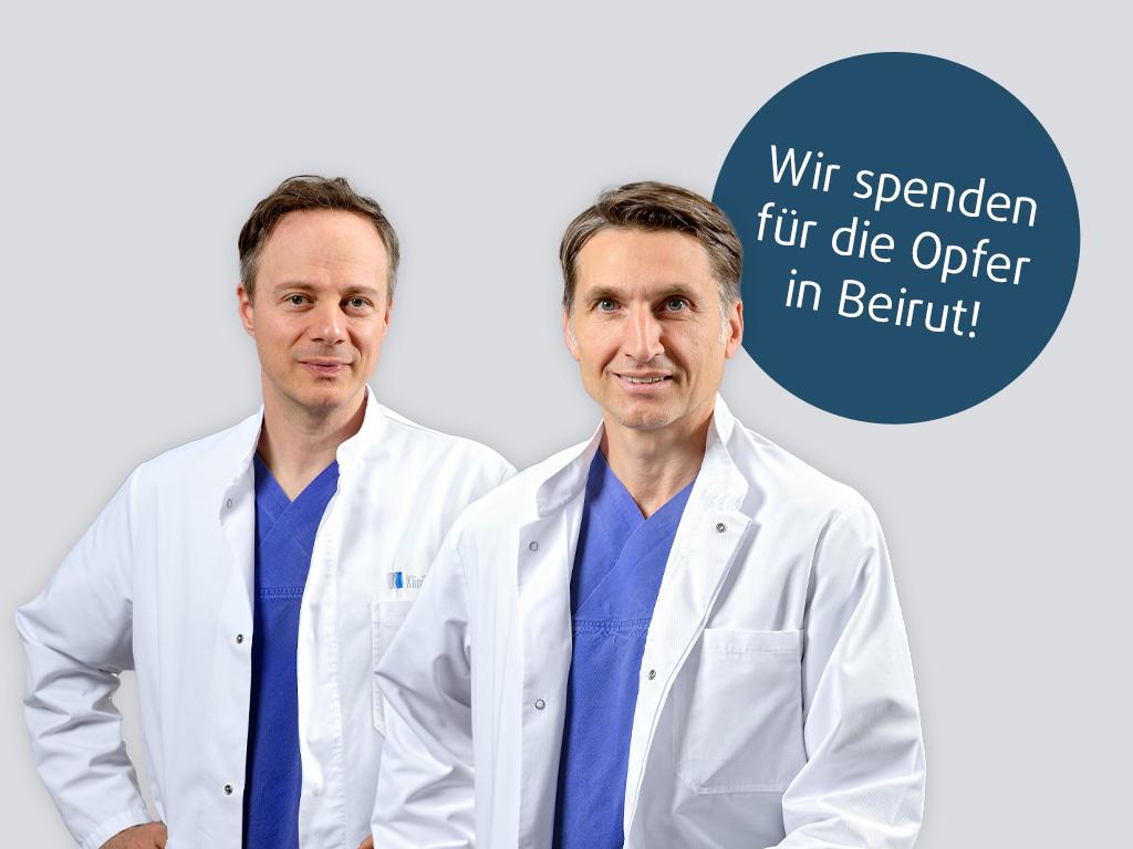 Klinik am Rhein Spenden für Beirut