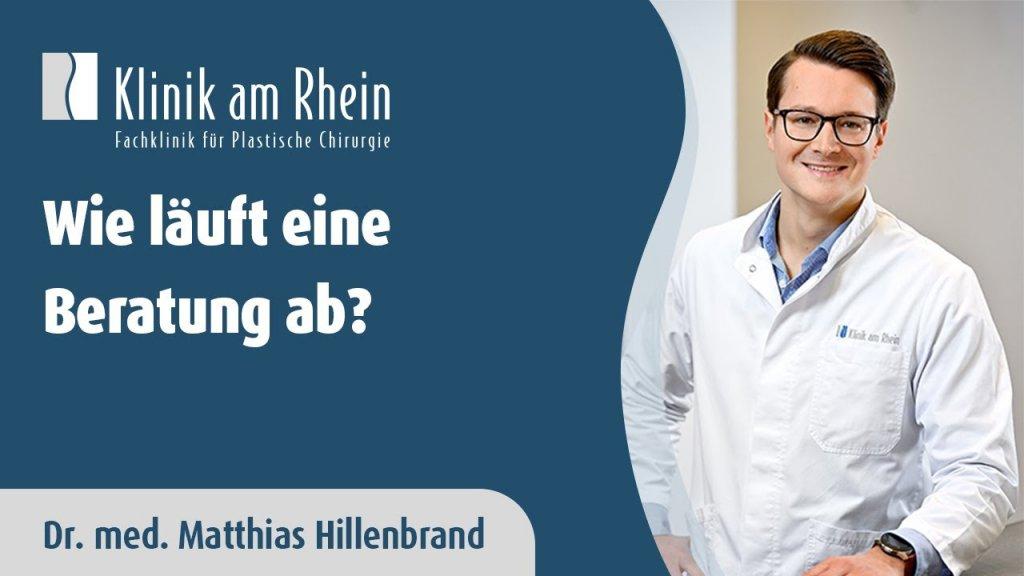 Beratungsgespräch in der Klinik am Rhein